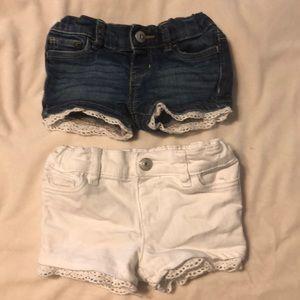 Bundle infant carters shorts